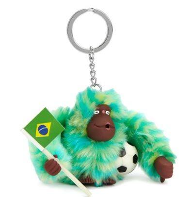 Kipling Brazilian monkey keychain