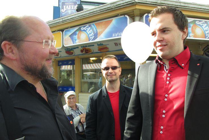 Isä Mitro ja Ari Wigelius SDP - Tampere 7.9.2013