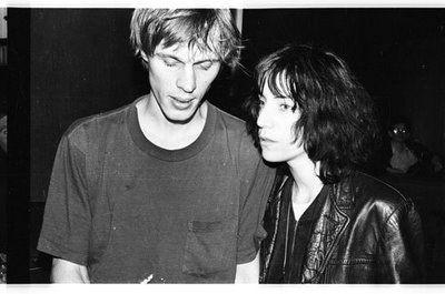 Tom Verlaine + Patti Smith