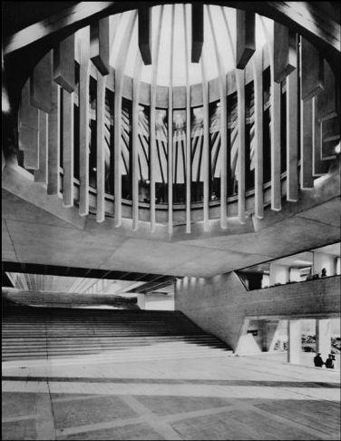 Arthur Erickson - Simon Fraser University, 1963