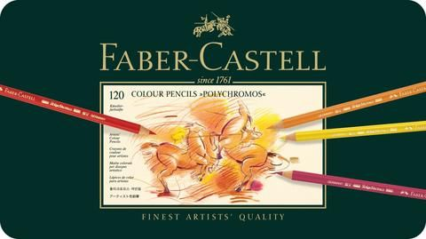 Faber Castell Polychromos 120 available from Colouring HQ