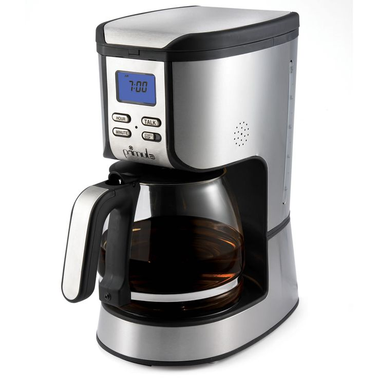 Coffee Maker Person Called : This talking coffee maker is ideal for a person with visual impairments. It allows an individual ...