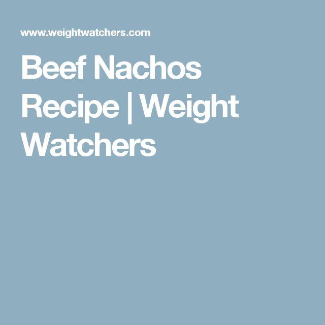 Beef Nachos Recipe | Weight Watchers
