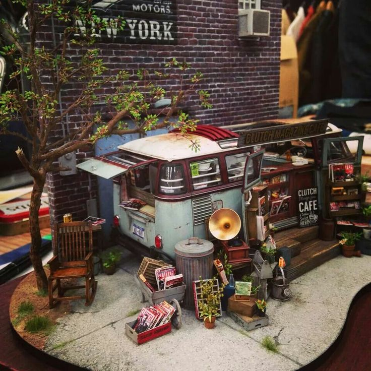 60 Best Dioramas, Garage/Shop/Factory Images On Pinterest