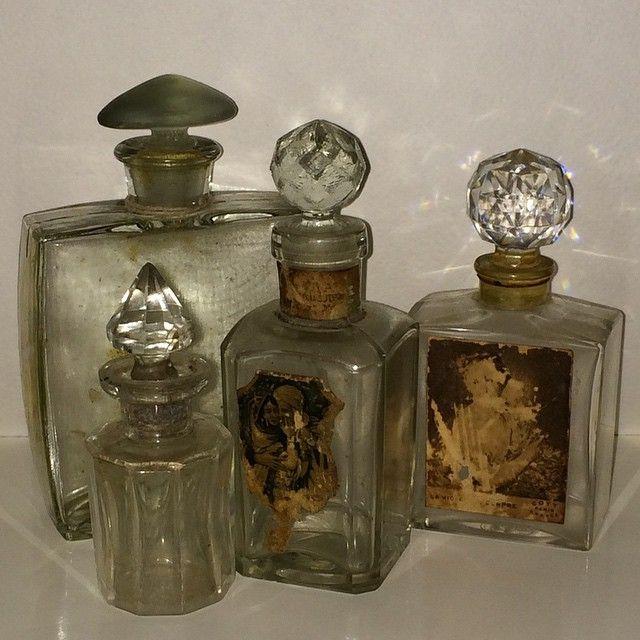 Beautiful old bottles
