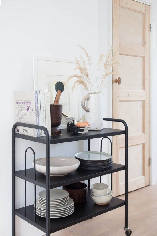 Mini Makeover: My Vintage Kitchen Trolley | avenue lifestyle