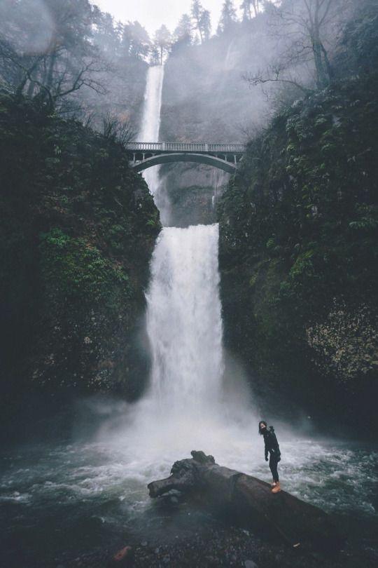 Multnomah Falls, East Troutdale, Oregon