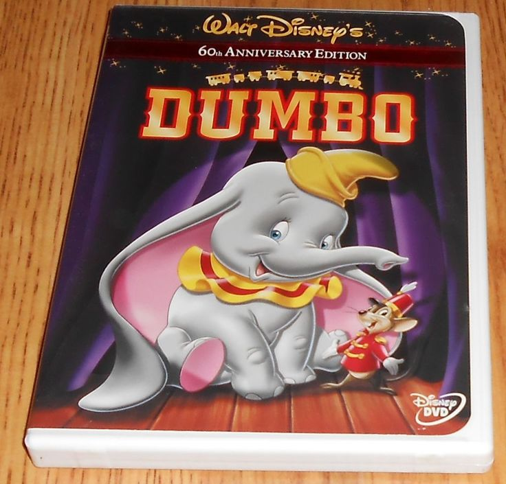Dumbo (DVD, 2001, 60th Anniversary Edition Disney