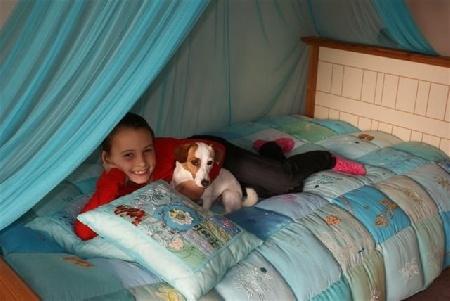 Ook voor de kinderen, prachtige accessoires en bedlinnen
