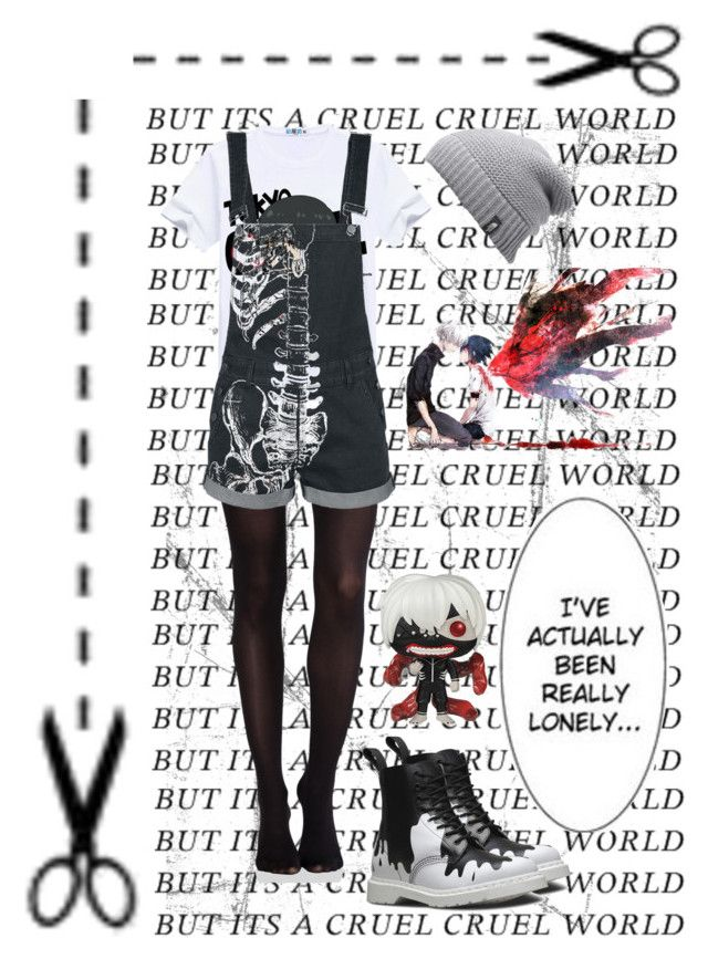 Re-Watching Tokyo Ghoul by justonebadday on Polyvore