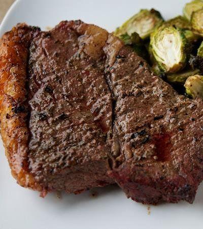 Paleo Mediterranean Steak #paleo #grilling #freezercooking #oamc