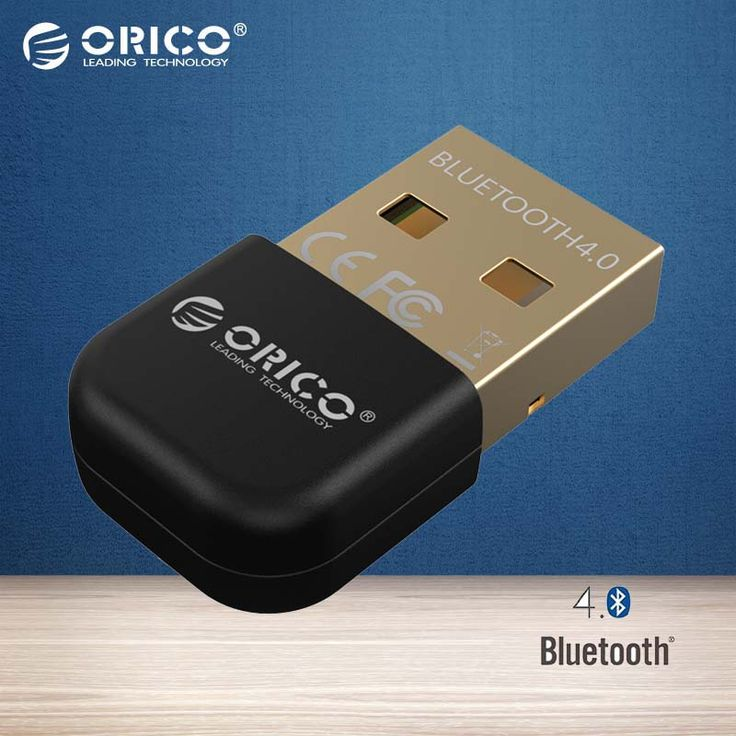 ORICO BTA-403-BL Mini Adaptador Bluetooth 4.0 Soporte Windows8/Windows 7/Vista/XP-negro/blanco/azul/rojo