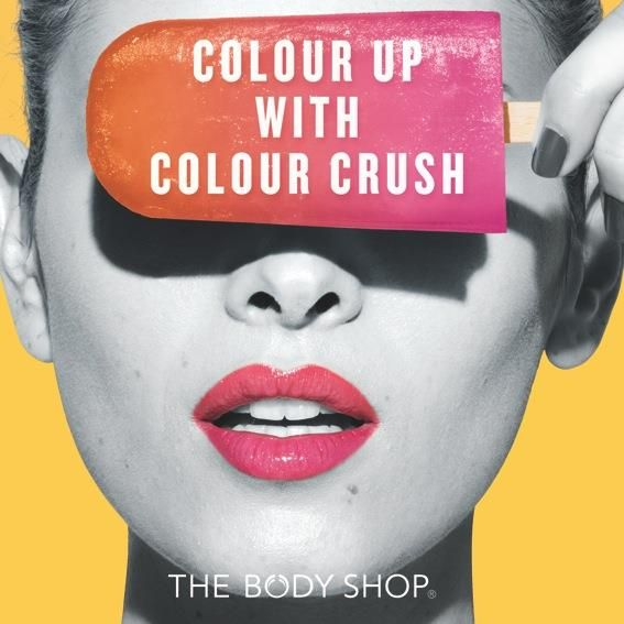 Woohoo!! SPECIAL DISC for Colour Crush Lip & Eye colour 10% for 2 & 15% for 3 at The Body Shop. COME ON GET IT!!