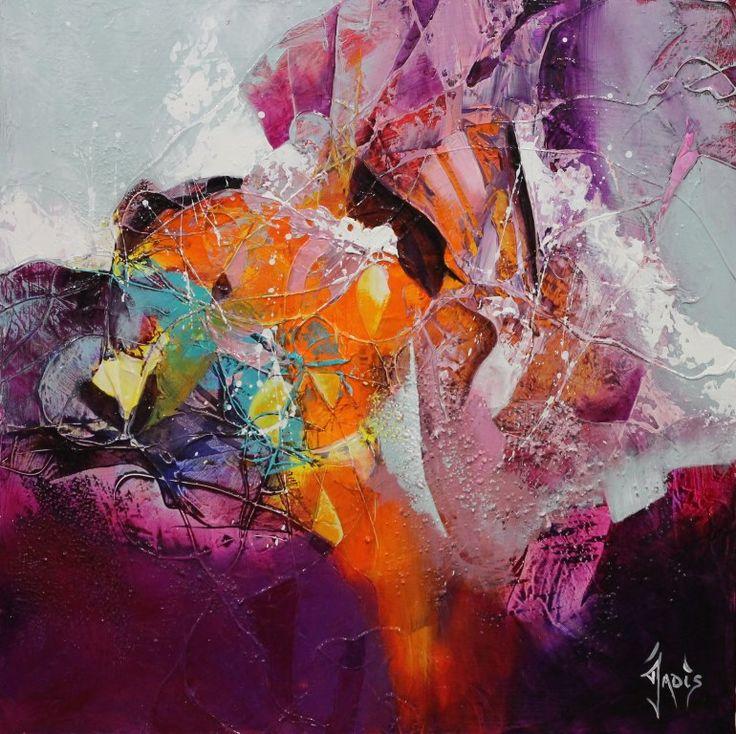Jadis artiste peintre abstrait