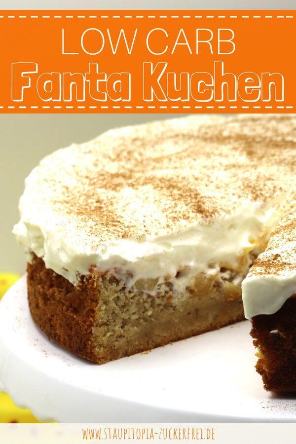 Low Carb Fanta Kuchen Rezept Rezepte Ohne Zucker Ohne