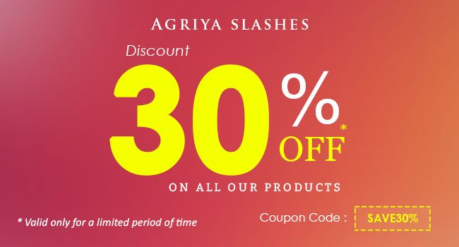 Agriya is ever thankful to its customers and as a gesture of gratitude, we announce an exciting 30% off on all ready-made app scripts.   Customers can avail this special offer using the coupon code - SAVE30%  Check our ready-made scripts & apps here, https://www.agriya.com/products  #AgriyaDiscount #AppDevelopmentOffer #WebDevelopmentOffer