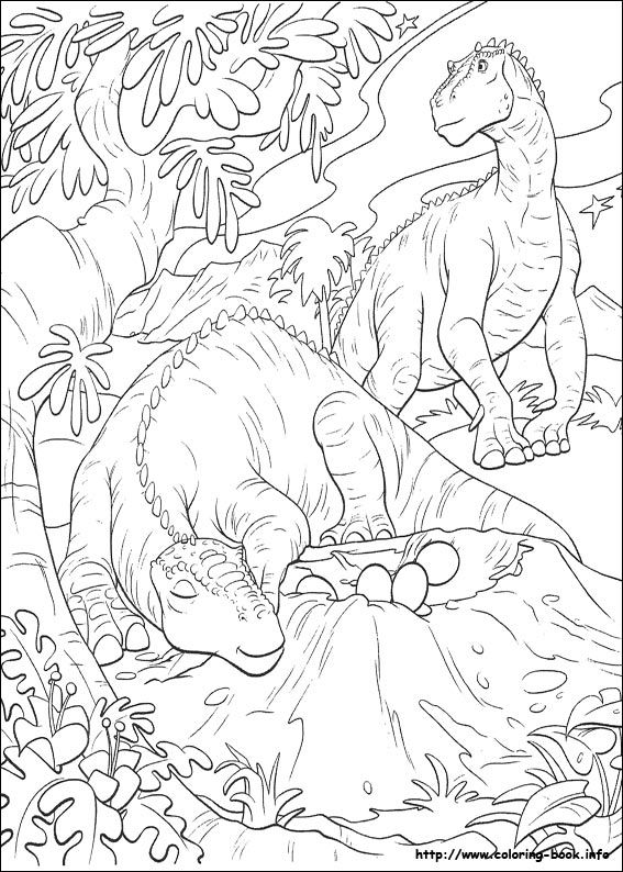dinosaure coloring picture