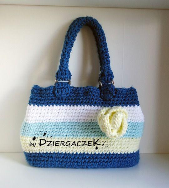Ręcznie robiona torba damska w Dziergaczek - Hand made na DaWanda.com