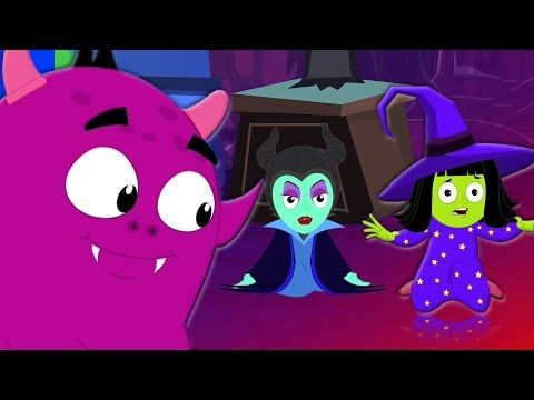 dieci nel letto | rima spaventoso | canzone vivaio | Ten In The Bed | Scary Song | Halloween Song - YouTube