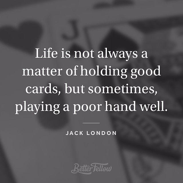 jack london quote life is not - Google Search