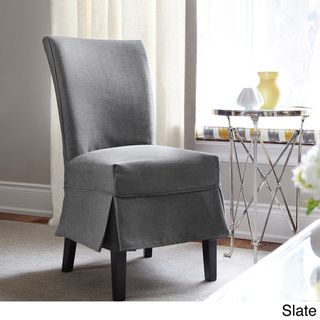 Bayside Dining Chair Relaxed Fit Slipcover With Buttons