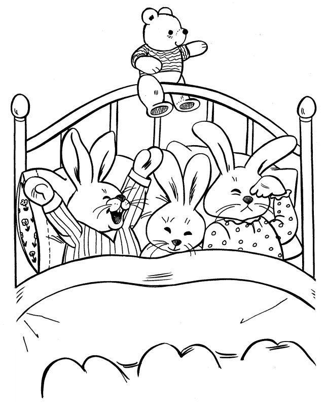 53 best coloring pages 42 mouse rabbit etc images on Pinterest
