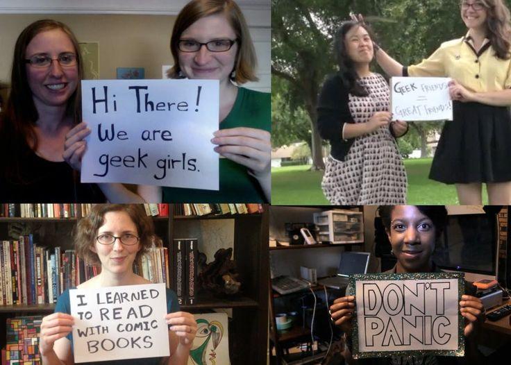 """""""Nada que probar"""" Chicas Geeks"""