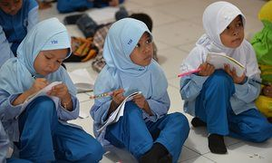 The most loaded question in Jakarta: 'What school would you like to go to?' | Cities | The Guardian