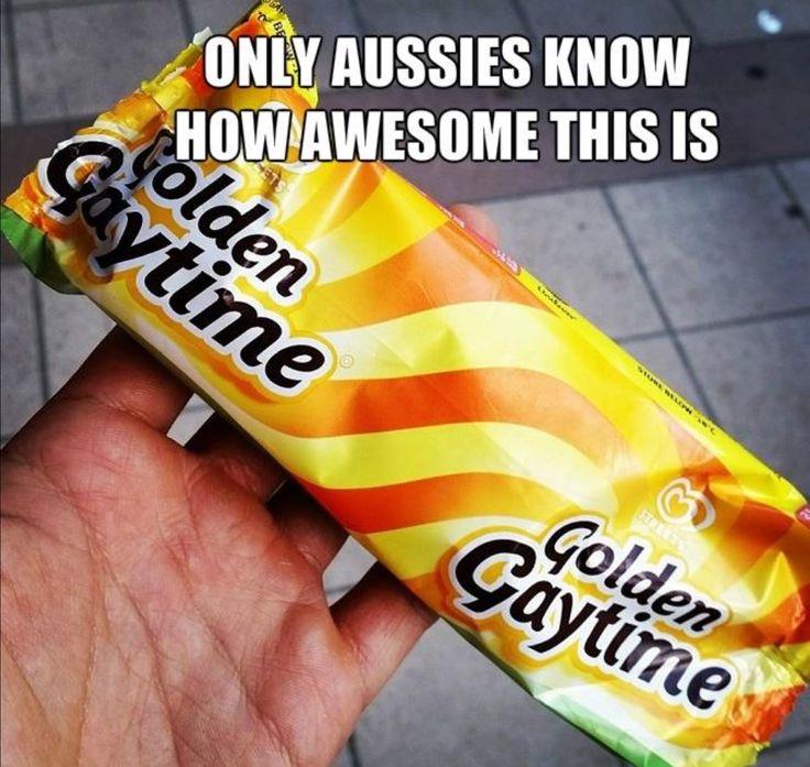Golden Gaytime. The best Aussie ice cream