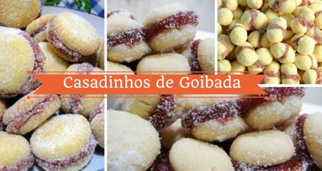 Os casadinhos fazem parte de muitas ocasiões especiais dos brasileiros. Recheados com goiabada os casadinhos são uma verdadeira delícia. Aprenda aqui uma r