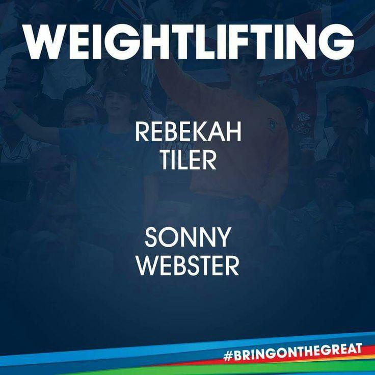 Weightlifting- Team GB Rio 2016