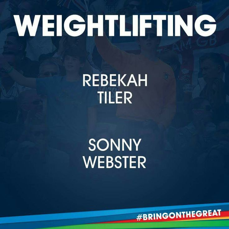 Weightlifting- Team GB Rio 2016