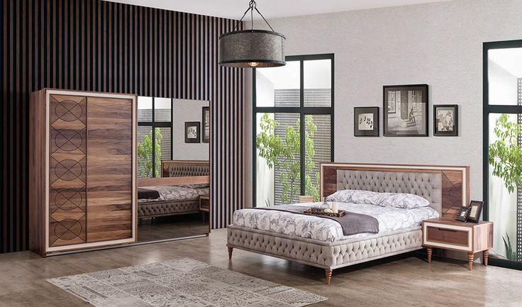 inegöl mobilya Lucca Yatak Odası Takımı
