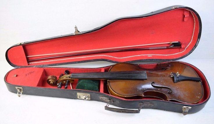 Antique Collectible 19 Century ANTONIUS STRADIVARIUS Full Size Violin Intarsia #ANTONIUSSTRADIVARIUS #ANTONIUSSTRADIVARIUS #ANTONIUSSTRADIVARIUS