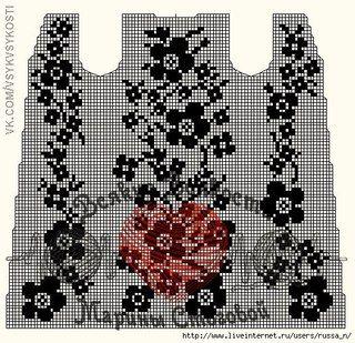 Пальто в технике филейного вязания.  Размер 44-46, но на 48 легко сядет даже на водолазочку или джемпер.   Крючок №4, ниточки 120м/100гр, 70%шерсть, 30%бамбук, расход 1,3 кг + 200гр на обвязку цветов