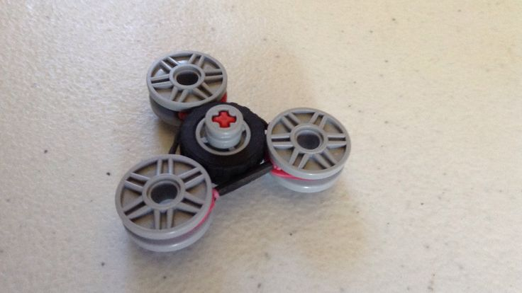 How to make a Lego fidget spinner