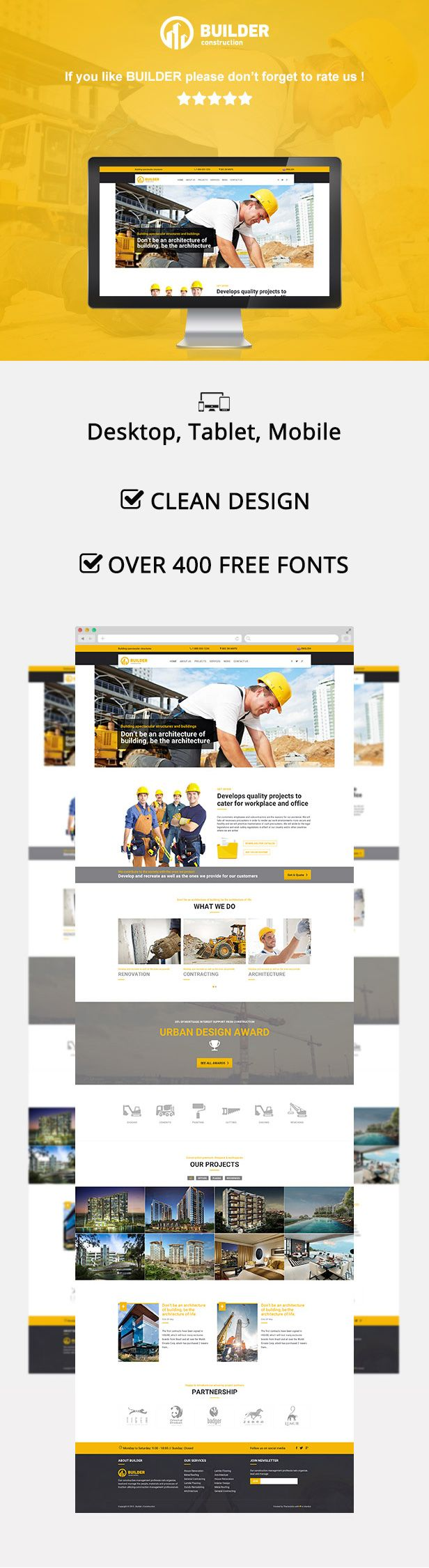 Builder | Construction Muse Template - Muse Templates | ThemeForest