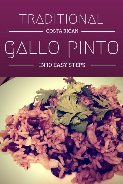 Gallo Pinto Recipe in 10 Easy Steps