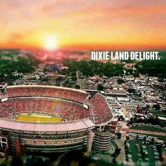 Alabama's Crimson Tide!