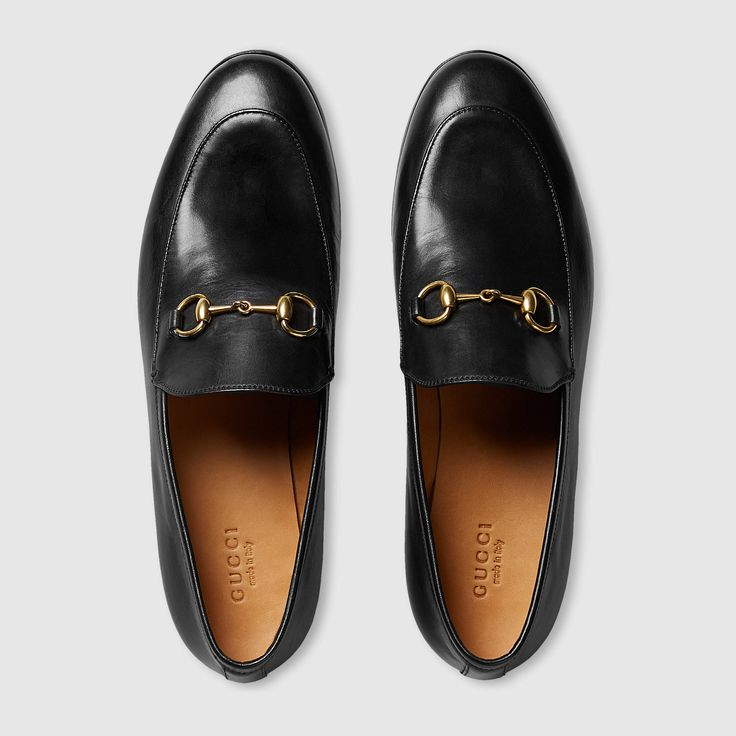 Gucci Women - Gucci Jordaan leather loafer - 404069BLM001000