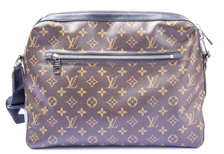 Auth LOUIS VUITTON Monogram Macassar Torres Shoulder Bag Cross Bag M40387 #LouisVuitton #MessengerShoulderBag