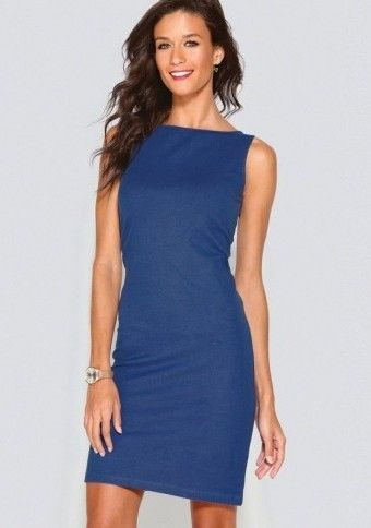 Jednobarevné šaty bez rukávů #ModinoCZ #modino_cz #modino_style #style  #fashion #spring #summer #dress