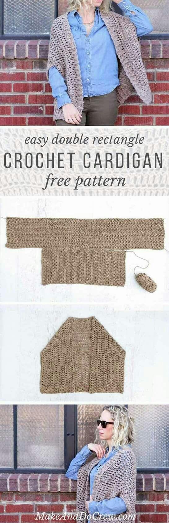 Easy cocoon shrug pattern