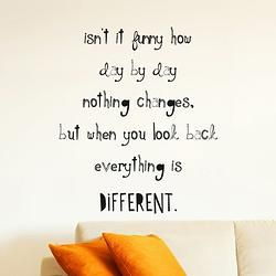 Isn't It Funny Quote