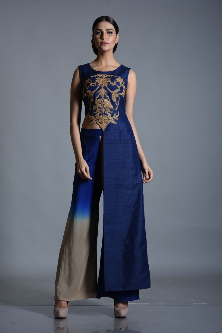 #spring/summer collection..#unconventional cuts & #design..#blue#vibrant color..#fashionable