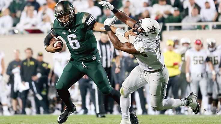 →  Michigan State football  Three and Out: Mich  State avenges 2014 defeat with win over Oregon #MichiganStatefootball   364