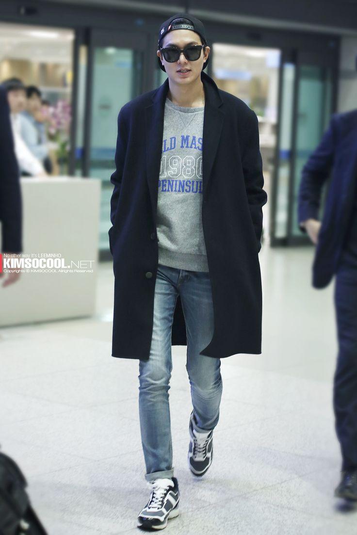 Photo Love Minsun Korean Actors Pinterest Airport Fashion Photos And Lee Min Ho