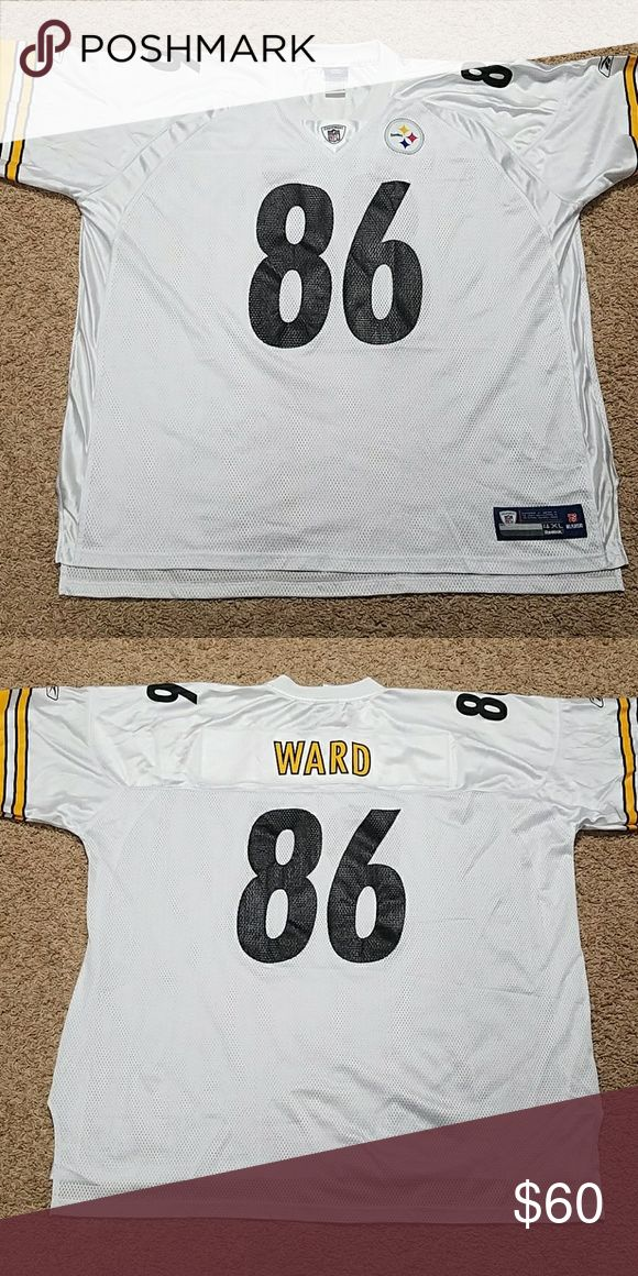 EUC Reebok Steelers NFL Jersey Ward #86 Like new Steelers NFL Jersey, no rips, tears or stains! Reasonable offers welcome! Reebok Shirts