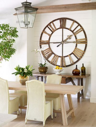 Decorating Walls Dining Room With Vintage Wall Clock : Decorating Walls  With Clocks. Decorating Ideas,decorating Ideas With Clocks,decorating Walls  Ideas ...
