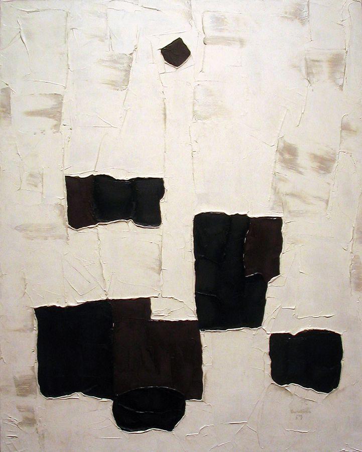 Black Star by Emile Borduas. Follow the biggest painting board on Pinterest: www.pinterest.com/atelierbeauvoir